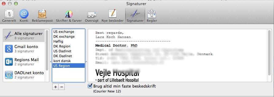 Signaturer gemmes ikke i Mail på min Mac – Her er en mulig løsning!